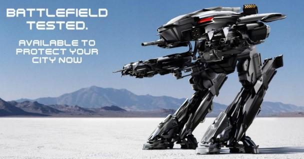 ed-209 robocop remake