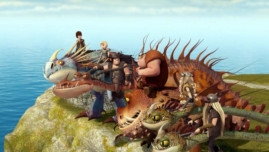 Dragones: Jinetes de Berk