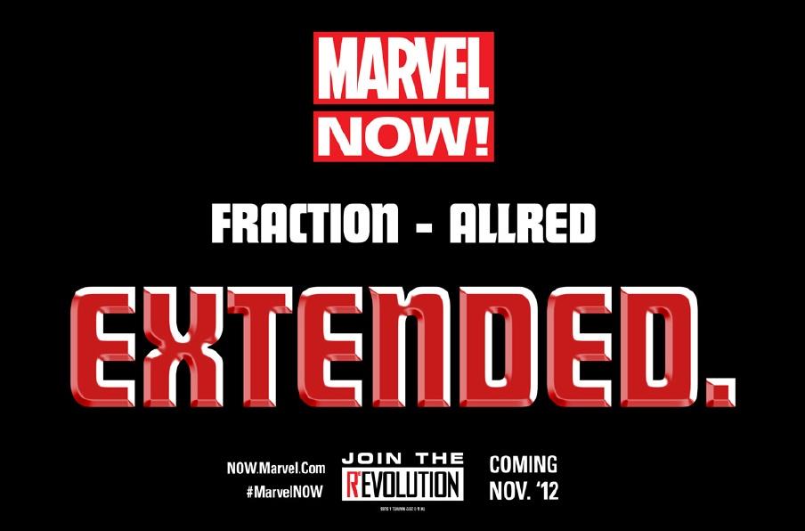 Teaser de Marvel NOW! Extended