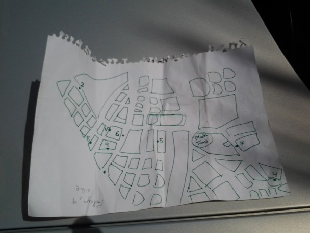 Plano de tiendas de cómics de Valencia