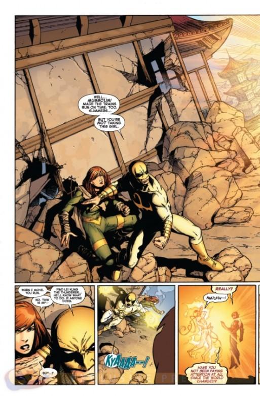 Página del Avengers Vs. X-Men 10