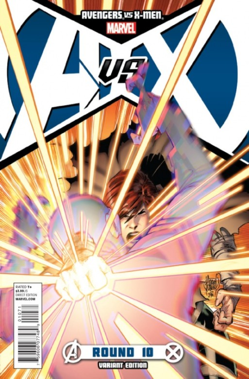 Portada Alternativa del Avengers Vs. X-men 10