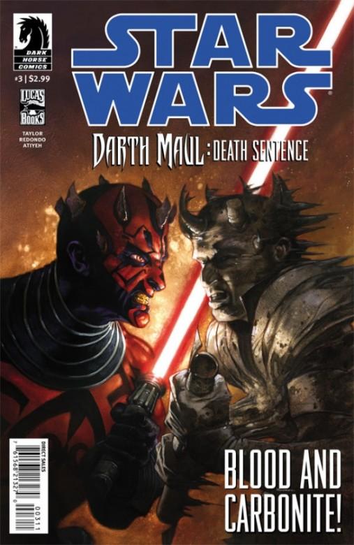 Portada del Star Wars: Darth Maul - Death Sentence 3