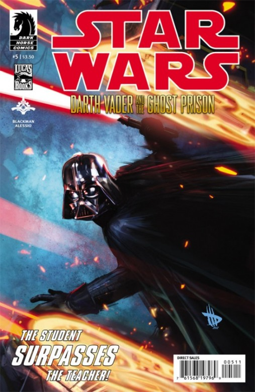 Portada del Star Wars: Darth Vader and the Ghost Prison 5
