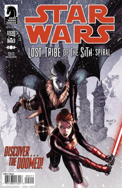 Portada del Star Wars : Lost Tribe of Sith - Spiral 2