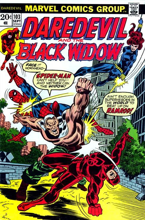 Daredevil y la Viuda Negra