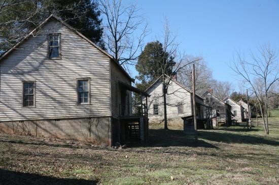 Lugares de Película: Distrito 12 (Panem) - Henry River Mill Village