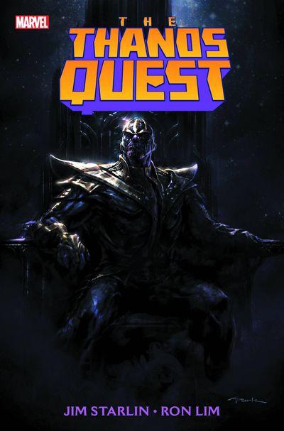 Portada del Thanos Quest