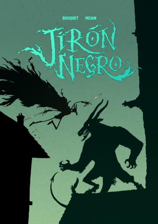Portada del primer volumen de Jirón Negro