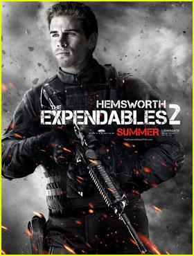 Liam Hemsworth en Los Mercenarios 2