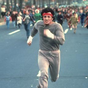 Rocky corriendo