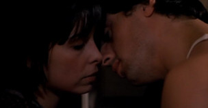 Primer beso de Rocky y Adrian