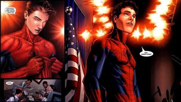 Spiderman desenmascarado