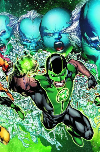 Portada del Green Lantern 13
