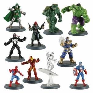 La expansión de Heroscape con personajes de Marvel.