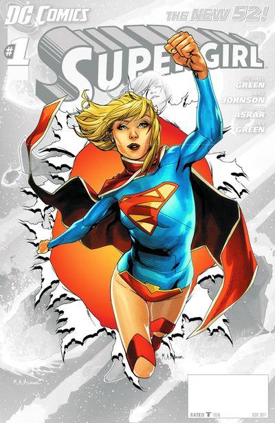 Portada del Supergirl 0