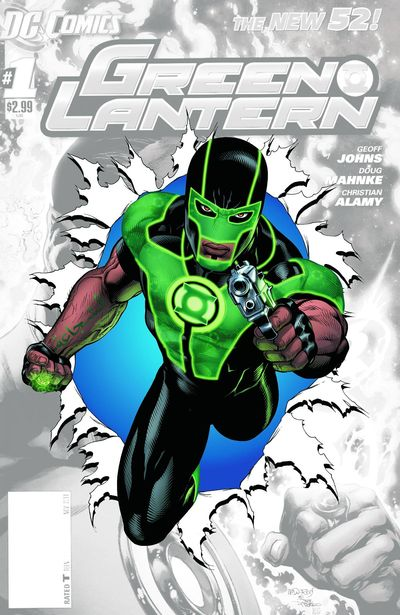 Portada del Green Lantern 0