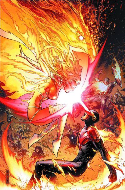 Portada del Avengers Vs. X-Men 11