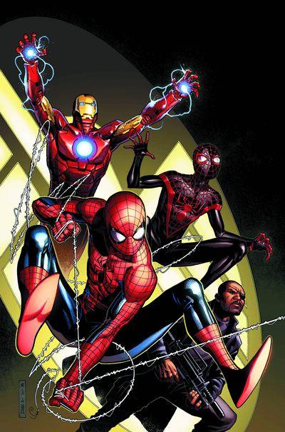 Portada del Spidermen 5
