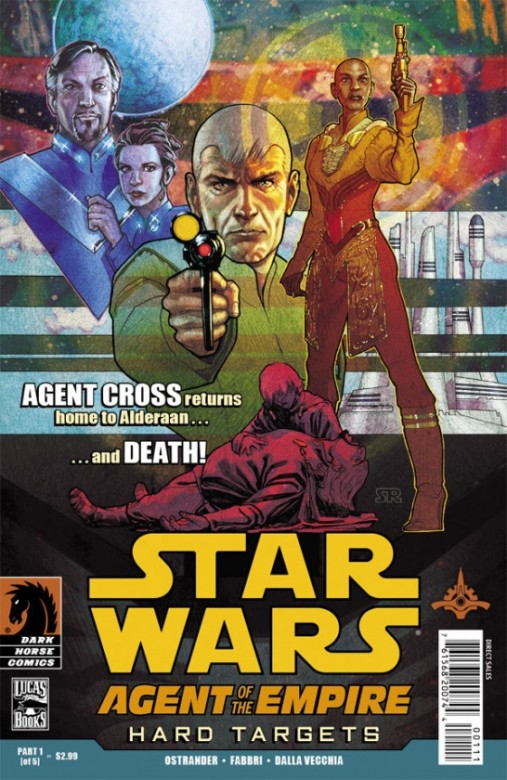 Portada del Star Wars: Agent of the Empire - Hard Target 1