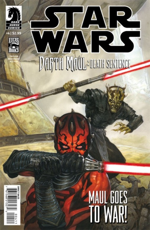 Portada del Star Wars - Darth Maul : Death Sentence 4