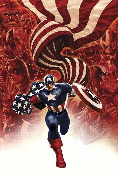 Portada del Captain America 19