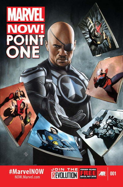 Portada del Marvel NOW! Point One 1
