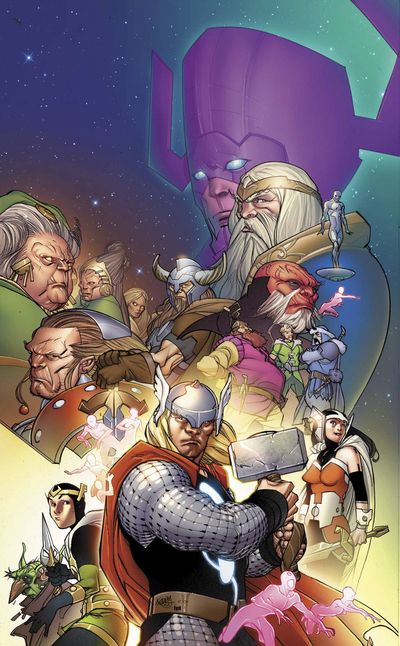 Portada del Mighty Thor 22
