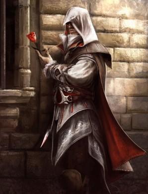 Ezio Auditore Concept-art rosa