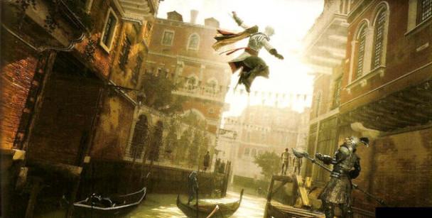 Ezio Auditore atacando