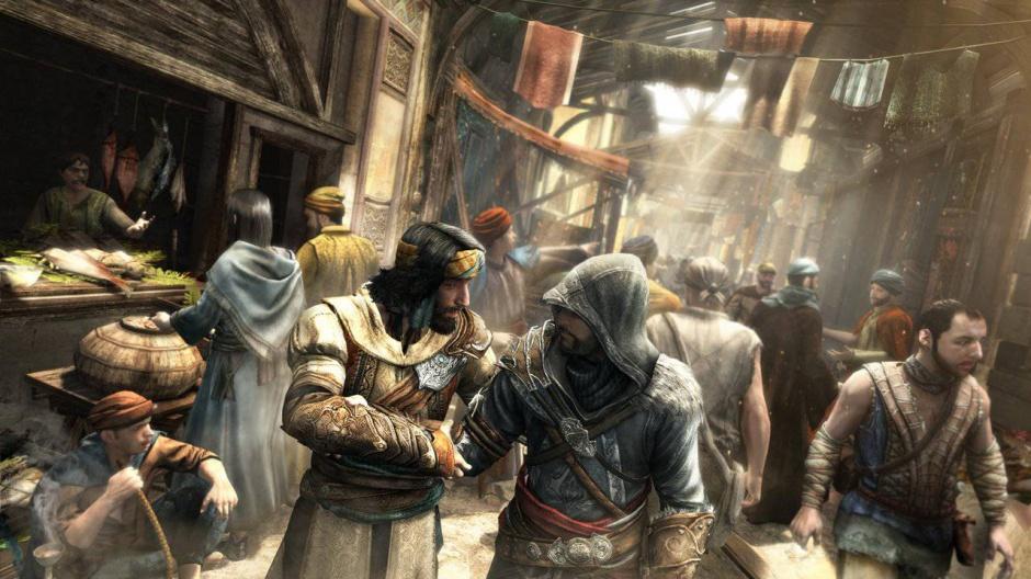 Ezio llega a Constantinopla