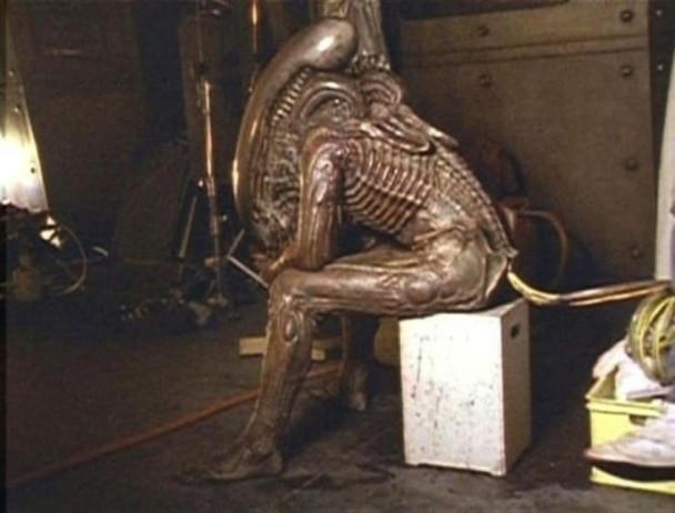 Detrás de las cámaras Alien