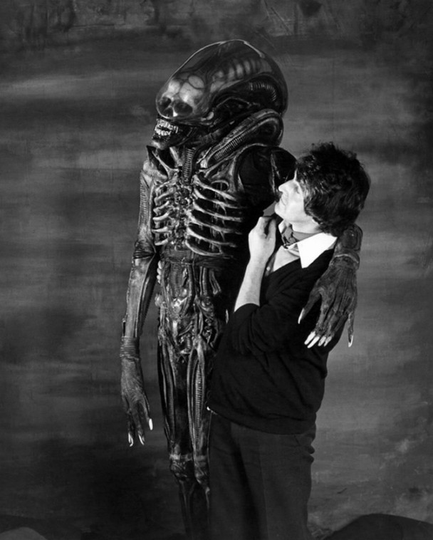 Foto Alien detras de las camaras 2