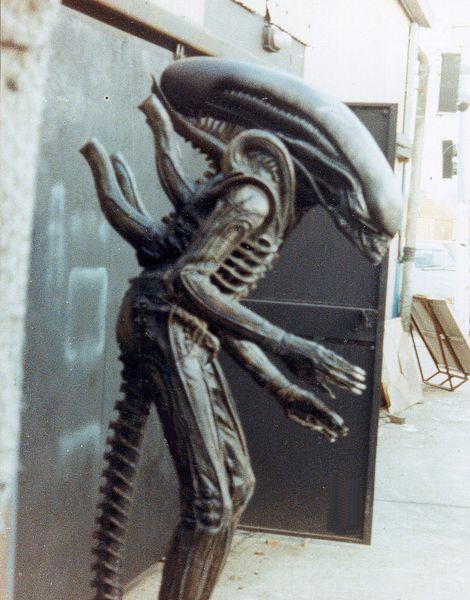 Foto Alien detras de las camaras 3