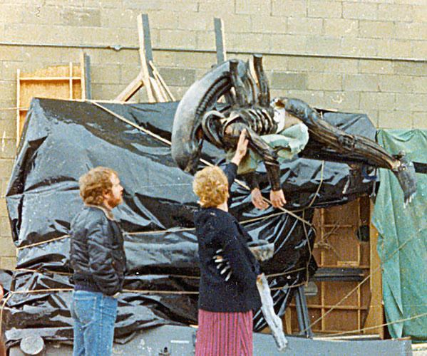 Foto Alien detras de las camaras 5
