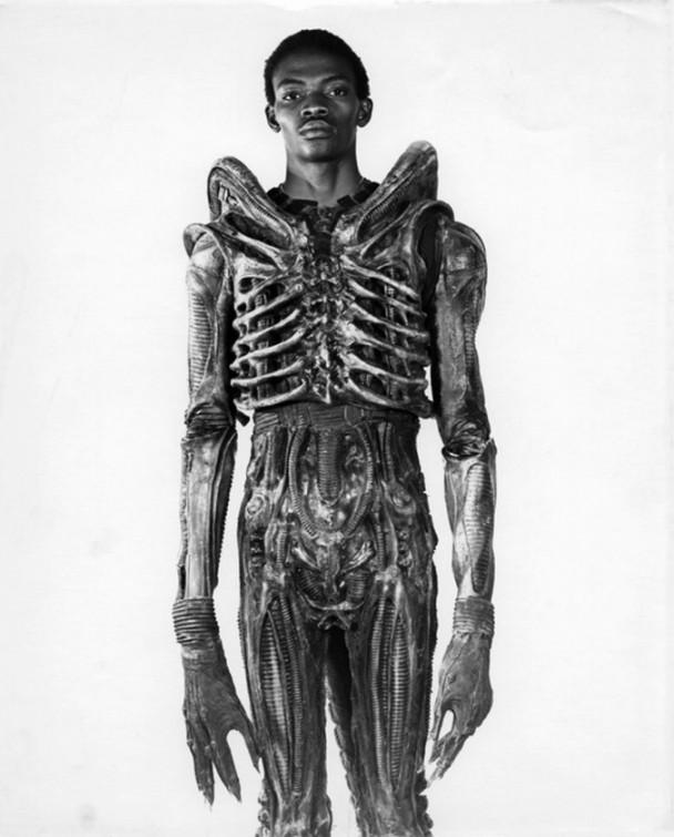 Foto Alien detras de las camaras
