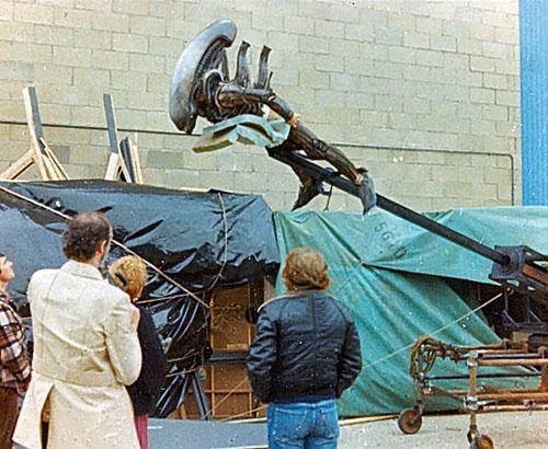 Foto Alien detras de las camaras 7