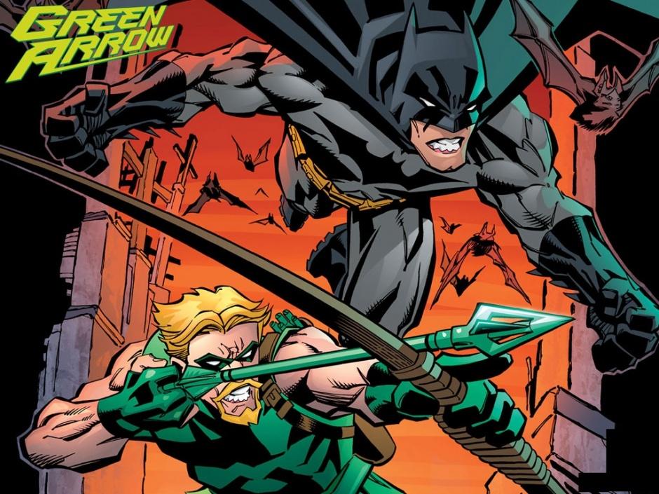 Flecha Verde y Batman