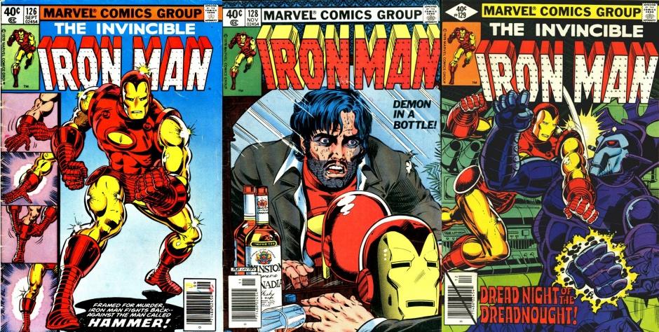 Iron Man #126, #128, #129