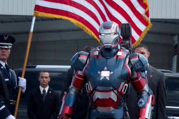 Armadura de Iron Patriot en 'Iron Man 3' (2013)