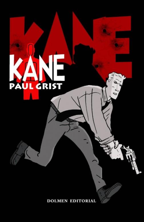 Portada del primer volumen de Kane