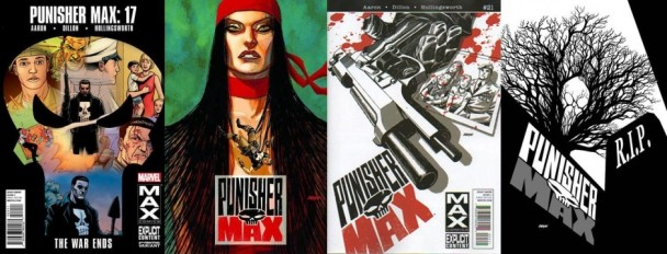 Portada de Punisher Max