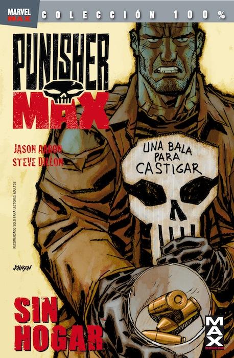 Portada de Punisher Max: Sin Hogar