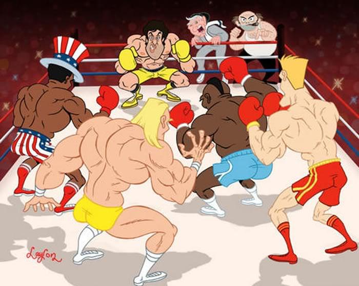 Rivales de Rocky