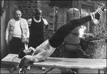 Rocky 4 entrenándose