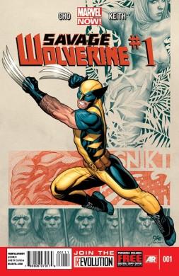 """Portada de """"Savage Wolverine #1"""""""