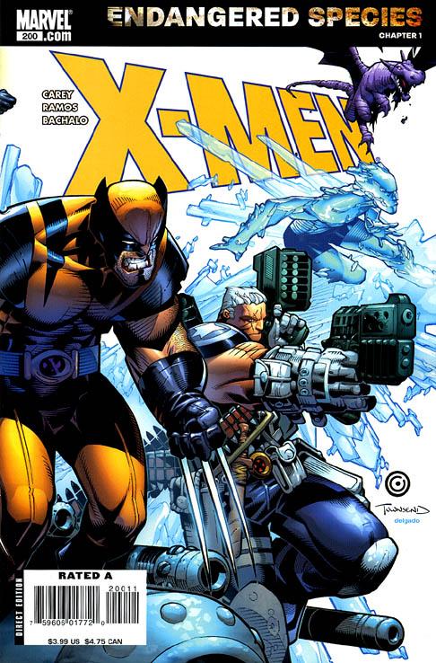 Portada alternativa del X-Men 200