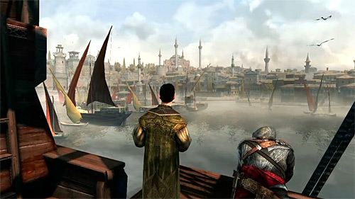 assassins creed revelations Ezio y Suleiman