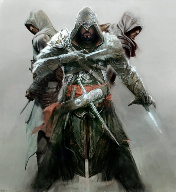 assassins creed revelations altair y ezio