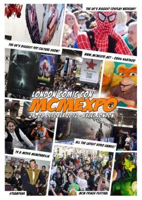 Cartel ComicCon Londres